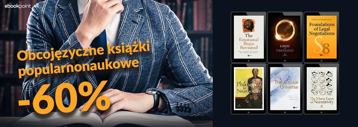 Promocja na ebooki Obcojęzyczne książki popularnonaukowe [-60%]